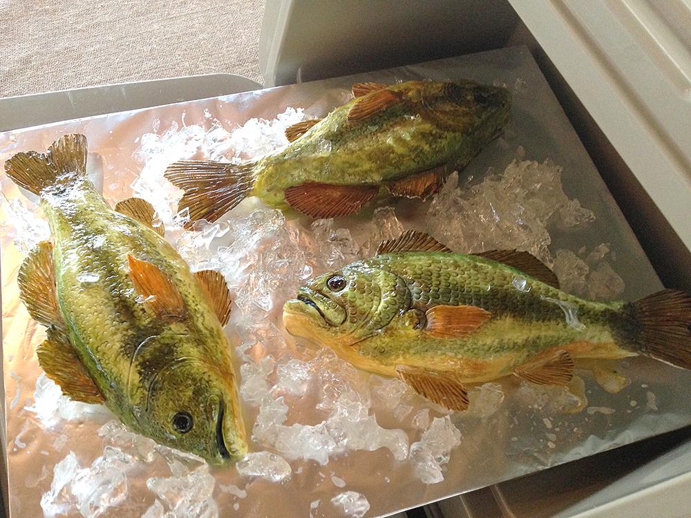 3D Largemouth Bass Cake