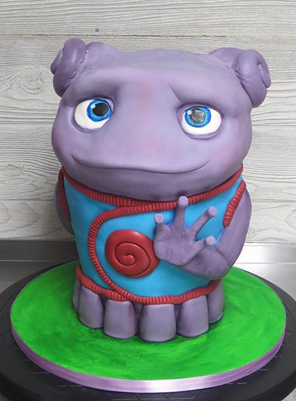 Oh Home Boov 3-D Cake