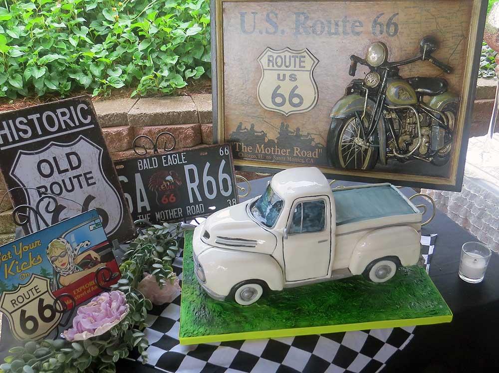 Classic Ford f150 Cake