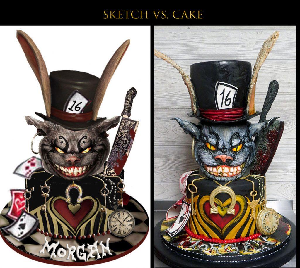 Sketch-vs-Cake Alice Madness Returns