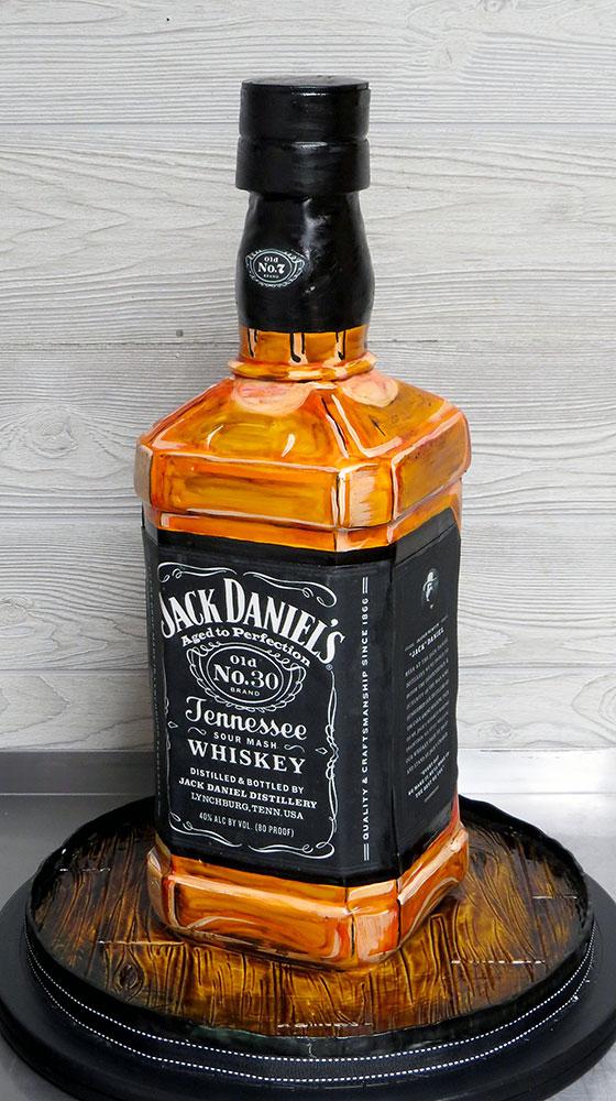 Jack Daniels Birthday Cake Old NO 30