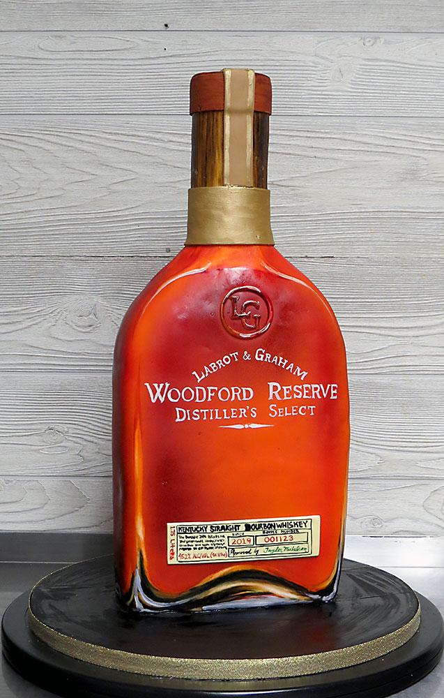 Woodford Reserve Whiskey Cake